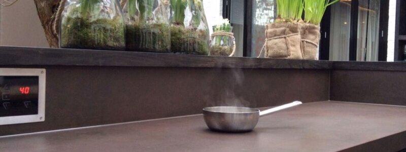 Dekton outdoor cooking