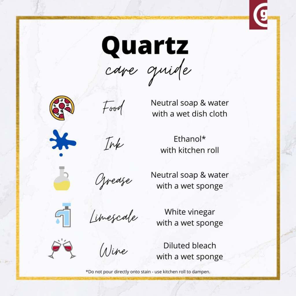 quartz care guide tips