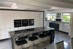Carbon Mist Granite, Kitchen Worktops, Granite Worktops