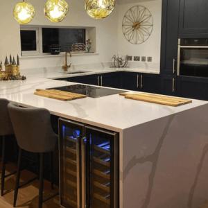 Bianco Calacatta, Quartz Worktops, Kitchen Worktops