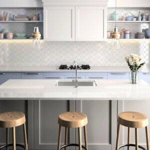 Grey Sparkle, Sparkling Kitchen Worktops, Sparkly Kitchen Worktops